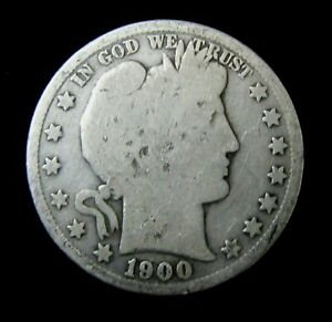 1900 S BARBER HALF DOLLAR   LOWER GRADE   BETTER DATE