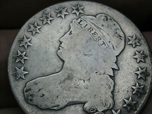 1825 CAPPED BUST HALF DOLLAR  GOOD DETAILS