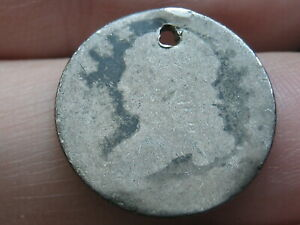 1809 1837 SILVER CAPPED BUST DIME  OLD TYPE COIN