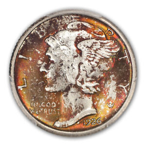 Click now to see the BUY IT NOW Price! 1926 10C MERCURY DIME PCGS MS67 FB  CAC