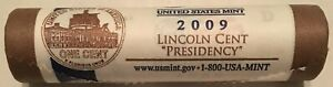 2009 D LINCOLN PENNY PRESIDENCY ROLL ORIGINAL MINT WRAPPING ROLL CP8307