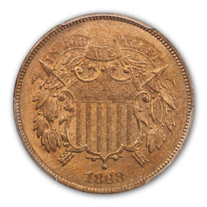 Click now to see the BUY IT NOW Price! 1868 2C TWO CENT PIECE PCGS MS66RD