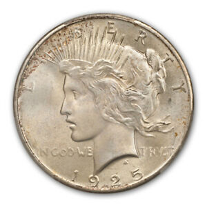 Click now to see the BUY IT NOW Price! 1925 $1 PEACE DOLLAR PCGS MS67   CAC