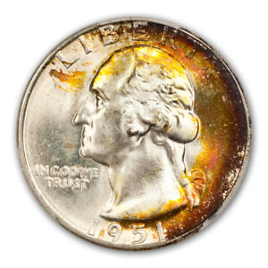 Click now to see the BUY IT NOW Price! 1951 D 25C WASHINGTON QUARTER PCGS MS68