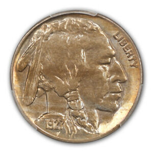 Click now to see the BUY IT NOW Price! 1927 S 5C BUFFALO NICKEL PCGS MS65
