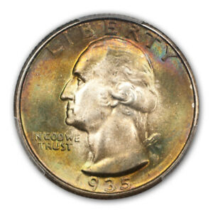 Click now to see the BUY IT NOW Price! 1935 25C WASHINGTON QUARTER PCGS MS68