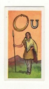 BRITISH COINS & COSTUMES CARDS 1960S. CELTIC. RING MONEY