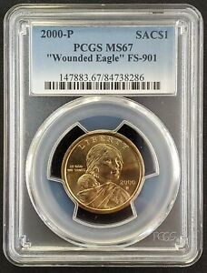 Click now to see the BUY IT NOW Price! 2000 P SACAGAWEA DOLLAR PCGS MS67