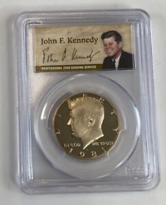 Click now to see the BUY IT NOW Price! 1981 S PCGS TYPE 1 PR70 DEEP CAMEO HALF DOLLAR JFK 50TH ANNIVERSARY