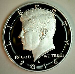 2016 S PROOF KENNEDY HALF DOLLAR COIN 50 CENT JFK FROM US MINT PROOF SET
