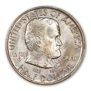 Click now to see the BUY IT NOW Price! GRANT 1922 50C SILVER COMMEMORATIVE PCGS MS67   CAC