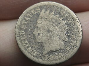1863 CN COPPER NICKEL INDIAN HEAD CENT PENNY