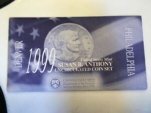 1999 SUSAN B. ANTHONY UNCIRCULATED COIN SET