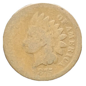 1875 US INDIAN HEAD CENT   7382