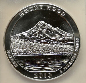 Click now to see the BUY IT NOW Price! 2010 UNITED STATES MOUNT HOOD OREGON 5 OZ PROOFLIKE SILVER 25C COIN PCGS I95251
