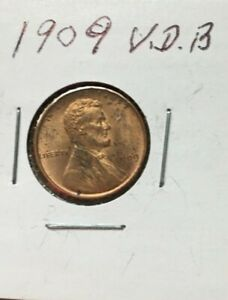 1909 VDB   LINCOLN WHEAT CENT NICE COIN