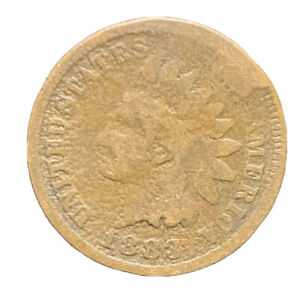 1883 INDIAN HEAD CENT EXACT COIN |  8620