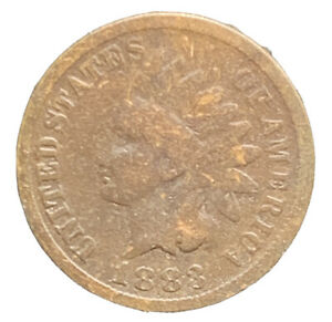 1883 INDIAN HEAD CENT EXACT COIN |  8621
