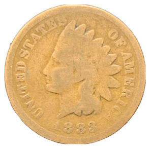 1883 INDIAN HEAD CENT EXACT COIN |  8637