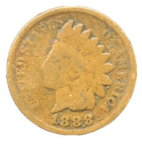 1888 INDIAN HEAD CENT  EXACT COIN |  8638