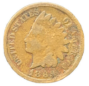 1889 INDIAN HEAD CENT  EXACT COIN |  8640