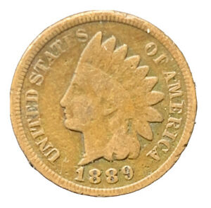 1889 INDIAN HEAD CENT  EXACT COIN |  8641
