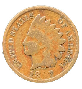 1897 P INDIAN HEAD CENT PENNY EXACT COIN   8649