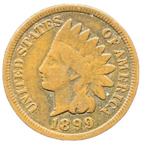 1899 INDIAN HEAD CENT EXACT COIN |   8652