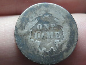1884 SEATED LIBERTY SILVER DIME