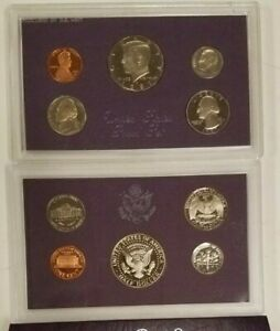 SS0587SXBCFP US MINT PROOF 5 COIN SET YEAR 1987 NO BOX NICE CAMEO MINT FRESH