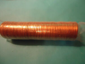 2011 P LINCOLN CENT ROLL   PLASTIC SEALED ROLL
