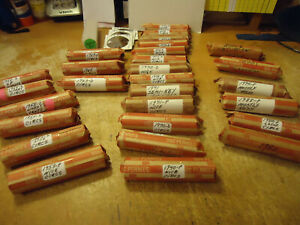 1970 D LINCOLN CENT ROLL        WE OFFER COMBINED SHIPPING