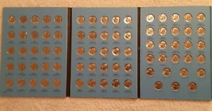 1965 TO 2004 ROOSEVELT DIME SET P&D CIRCULATED IN WHITMAN FOLDER 77 COINS