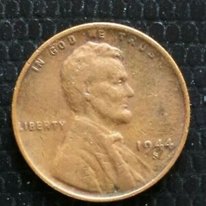 1944 S LINCOLN WHEAT CENT