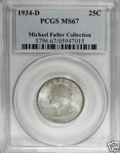 Click now to see the BUY IT NOW Price! 1934 D WASHINGTON QUARTER PCGS MS 67 MEDIUM MOTTO  TOP POPULATION