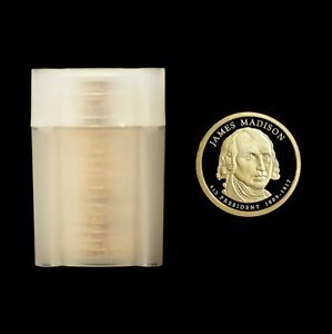 Click now to see the BUY IT NOW Price! 2007 S  JAMES MADISON   GEM PROOF ROLL   20  PROOF COINS