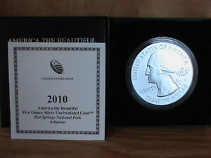 Click now to see the BUY IT NOW Price! 2010 P HOT SPRINGS AMERICA THE BEAUTIFUL 5 OZ SILVER COIN    .999 PURE SILVER