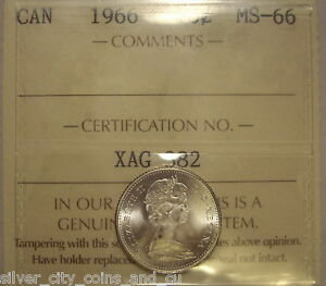 Click now to see the BUY IT NOW Price! SUPER GEM CANADA ELIZABETH II 1966 SILVER TEN CENTS   ICCS MS 66  XAG 382