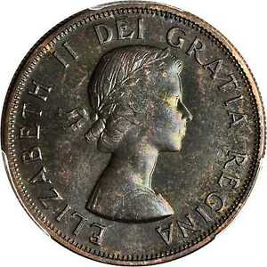 Click now to see the BUY IT NOW Price! CANADA 1957 QUEEN ELIZABETH 50 CENT PCGS PL67
