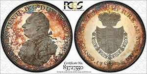 Click now to see the BUY IT NOW Price! 1798 GERMAN STATES WURTTEMBERG THALER KM PN26 PCGS PR63DCAM