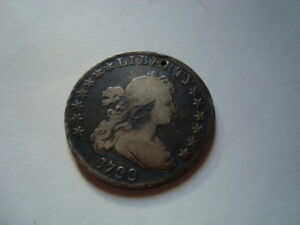 1799 DRAPED BUST FLOWING HAIR SILVER DOLLAR   HERALDIC EAGLE