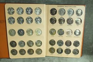 Click now to see the BUY IT NOW Price! 1964 1980 PDS KENNEDY HALF DOLLAR SET 44 COINS DANSCO BU UNC PROOF C19