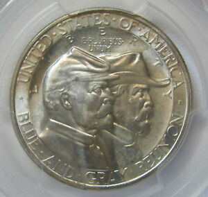 Click now to see the BUY IT NOW Price! 1936 GETTYSBURG COMMEMORATIVE HALF DOLLAR CAC   PCGS MS 66  NEAR PERFECT C855