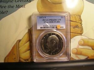 Click now to see the BUY IT NOW Price! 1971 S PCGS PR 66 DCAM SILVER DDR FS 801