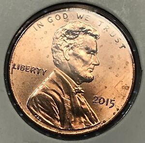 2015 LINCOLN SHIELD CENT. COLLECTOR COIN FOR YOUR SET OR COLLECTION.9