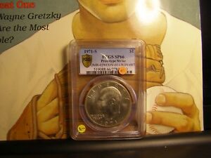 Click now to see the BUY IT NOW Price! 1971 S PCGS SP 66 PROTOTYPE IKE DOLLAR ERROR  NGC ANACS ICG ONE OF A KIND