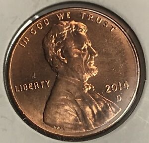 2014 D LINCOLN SHIELD CENT. COLLECTOR COIN FOR YOUR SET OR COLLECTION.3