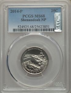 Click now to see the BUY IT NOW Price! SINGLE FINEST IN EXISTENCE   2014 P QUARTER MS68 PCGS POP 1 NGC POP 0 NONE FINER