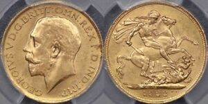 Click now to see the BUY IT NOW Price! AUSTRALIA 1922 SYDNEY SOVEREIGN   PCGS MS63