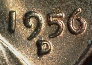 Click now to see the BUY IT NOW Price! 1956 D/D/D/D LINCOLN WHEAT CENT RPM 005 B/U